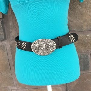 Other - Vintage rare🔥Nocona belt co. Genuine Leather Belt